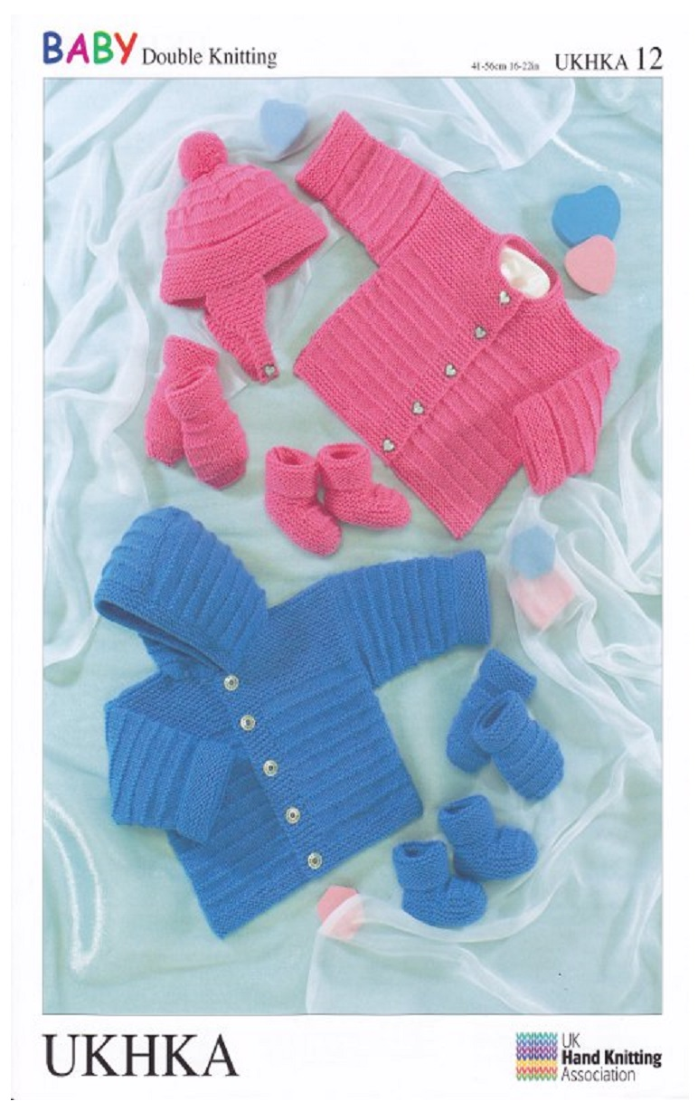 Knitting Pattern BABY BONNETS MITTS BOOTEES DOUBLE KNITTING DK BIRTH TO 6 MONTHS