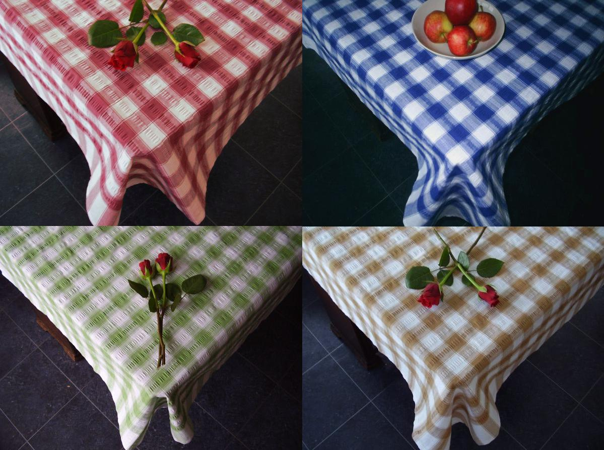 Image Is Loading Seerer Checked Cotton Tablecloths Picnic Outdoor Dining Table
