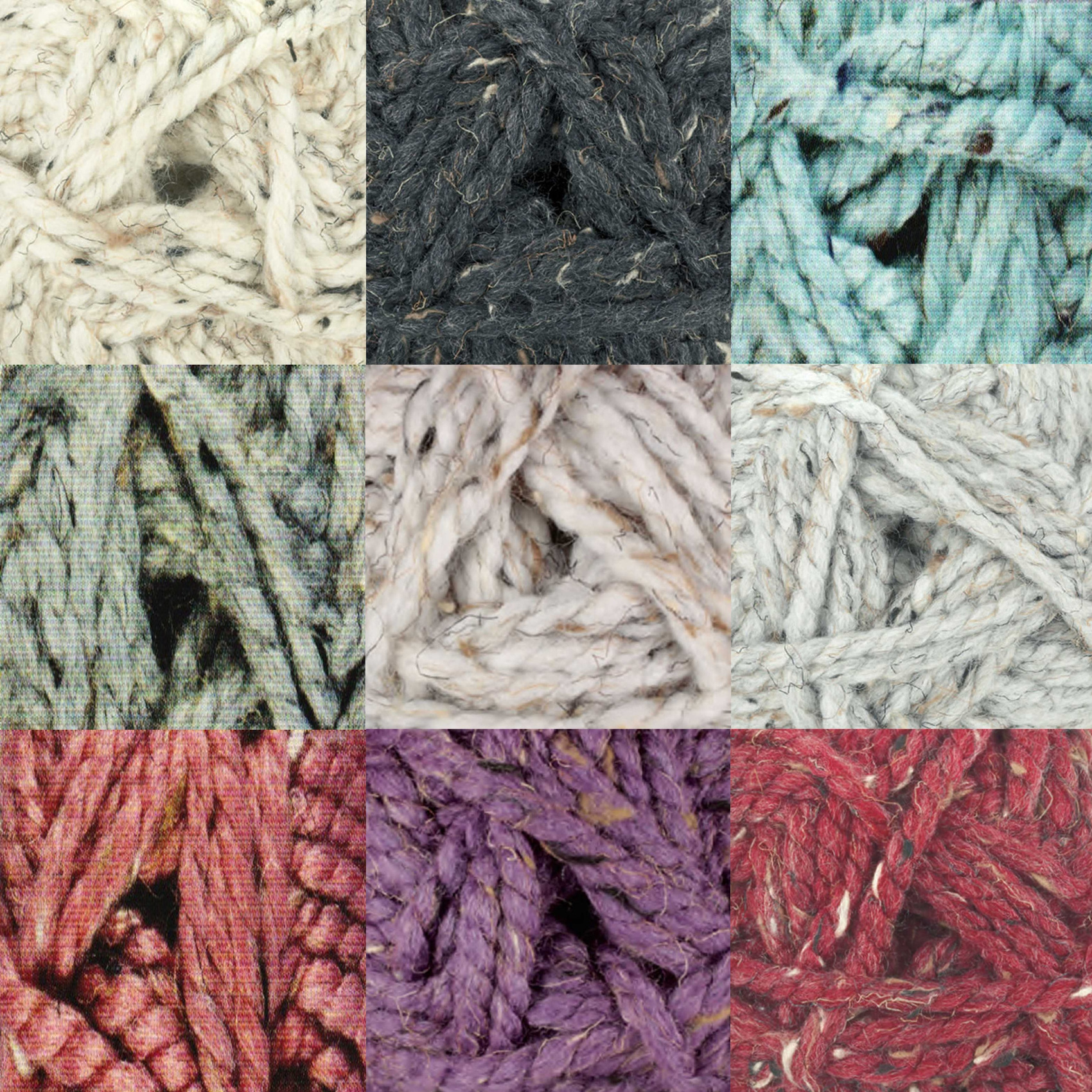 James C Brett RUSTIC MEGA CHUNKY Knitting Acrylic Yarn Wool 100g CS2