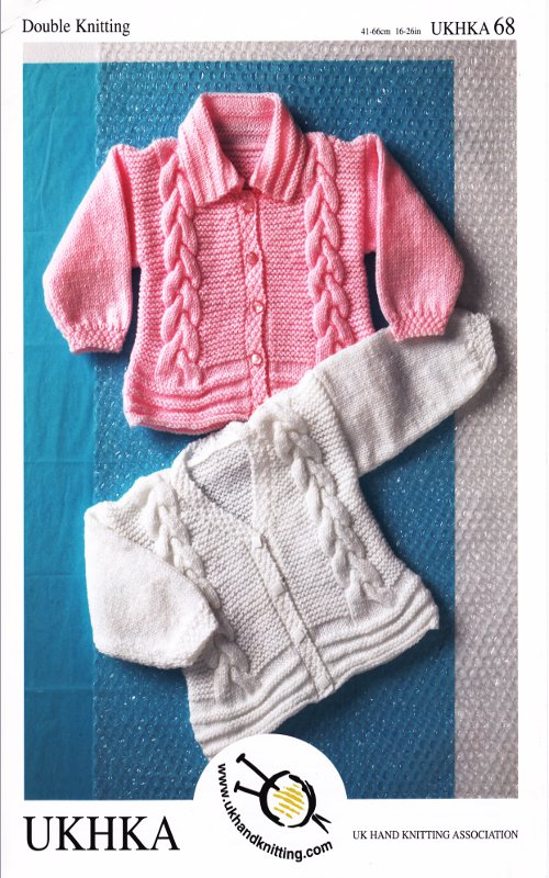Baby DK Double Knitting Pattern Childrens Cable Knit ...