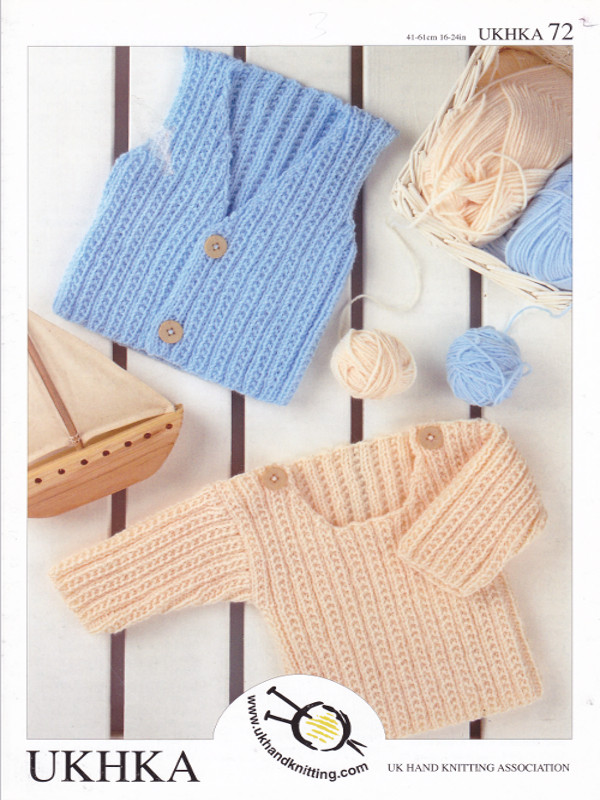 Baby DK Double Knitting Pattern Childrens Boys Waistcoat Sweater ...