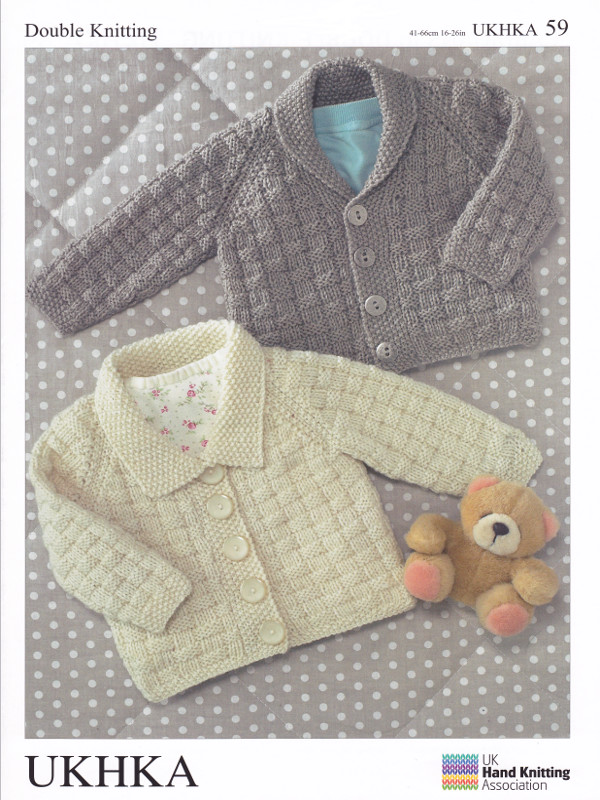 Baby Dk Double Knitting Pattern Childrens Sweater Cardigans 16 26