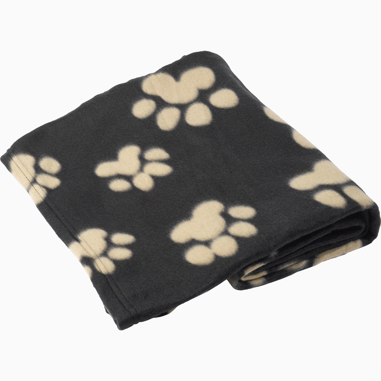 Puppy Dog Soft Fleecy Paw Print Comfort Blanket Polar Fleece Kitten Comforter Ebay