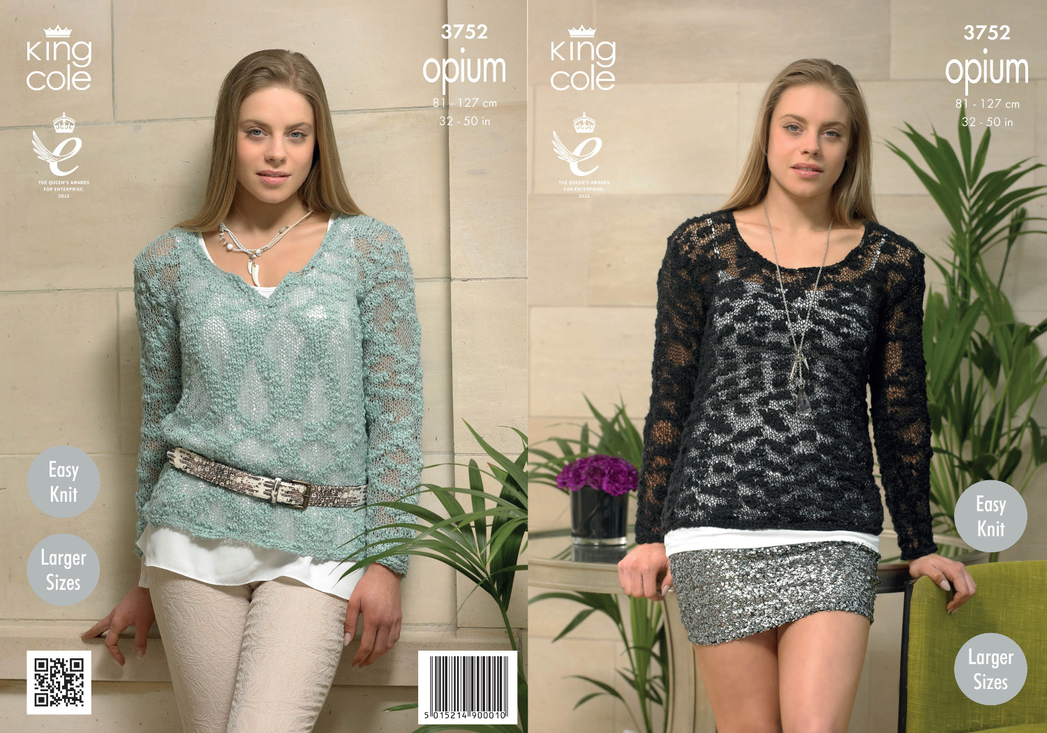 King cole womens knitting pattern ladies opium round v neck king cole womens knitting pattern ladies opium round v neck sweater jumper 3752 bankloansurffo Image collections