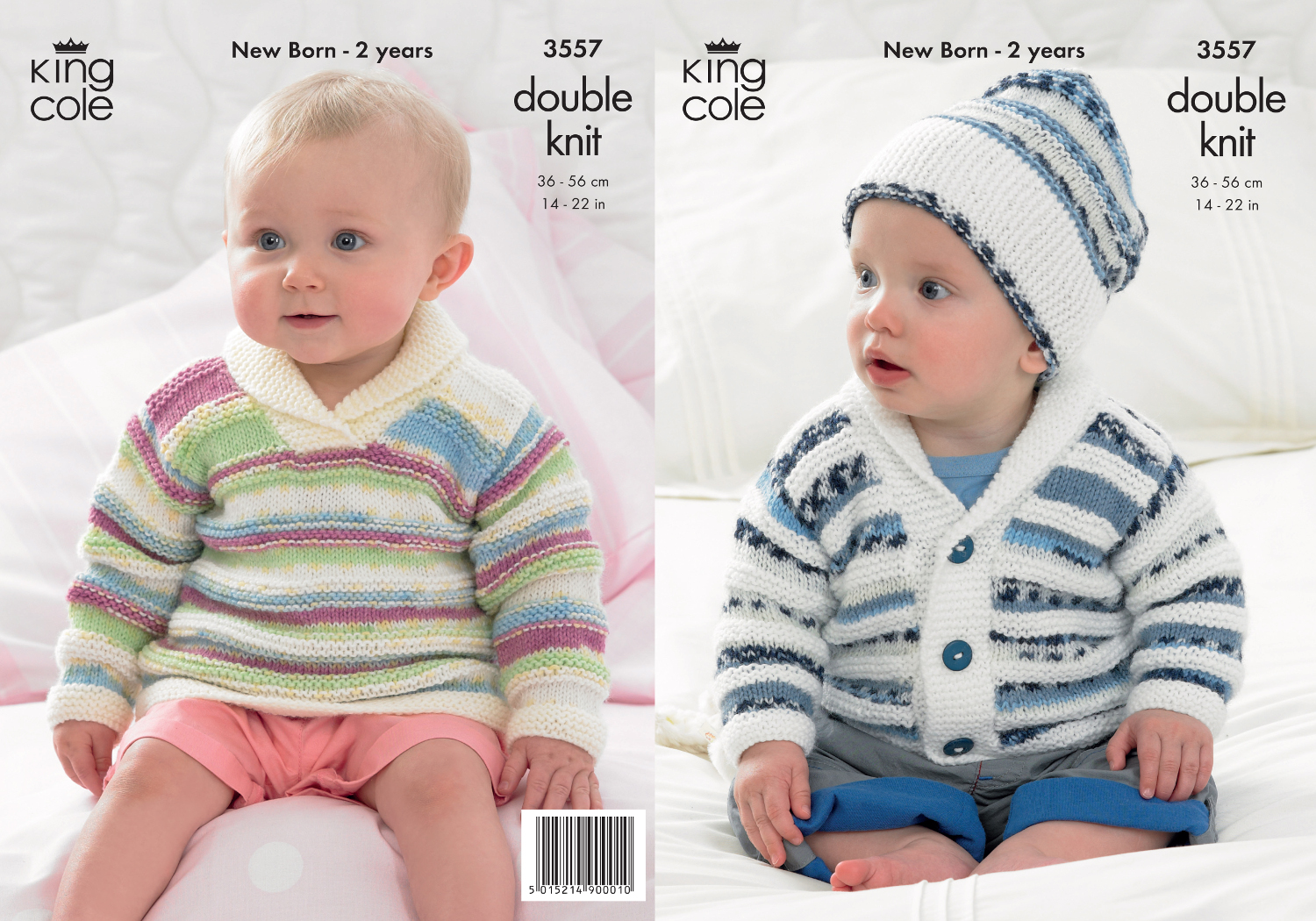 King cole baby double knitting dk pattern striped sweater jumper king cole baby double knitting dk pattern striped sweater jumper jacket hat 3557 bankloansurffo Choice Image