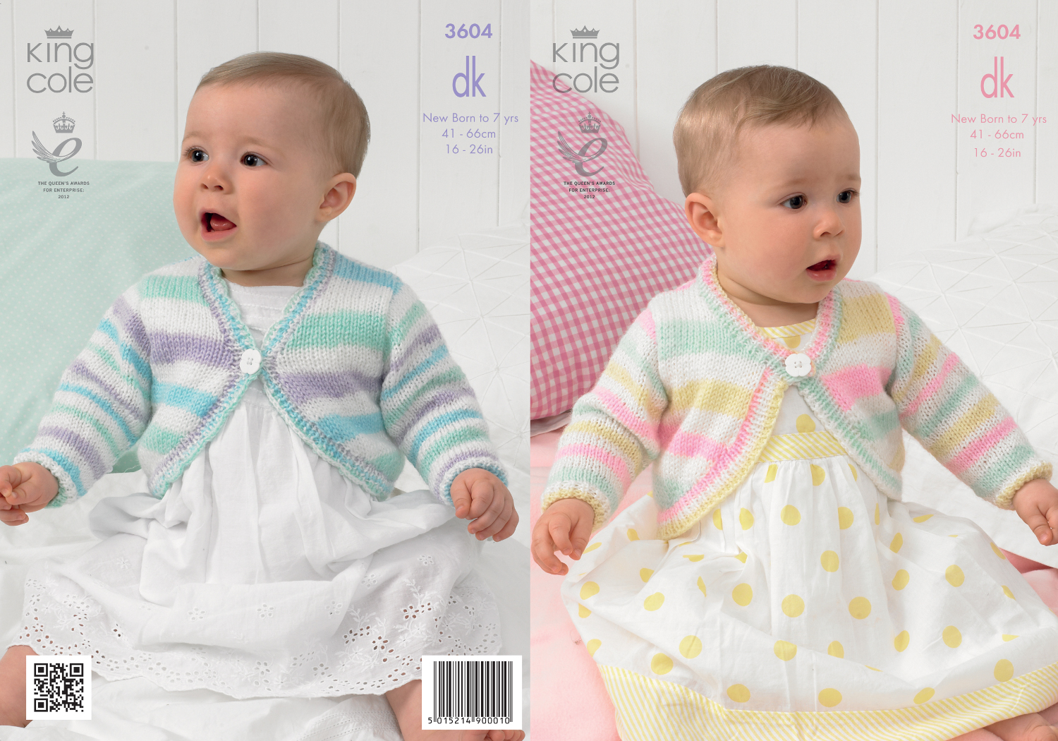 King cole baby double knitting dk pattern striped round or v neck king cole baby double knitting dk pattern striped round or v neck cardigans 3604 bankloansurffo Choice Image