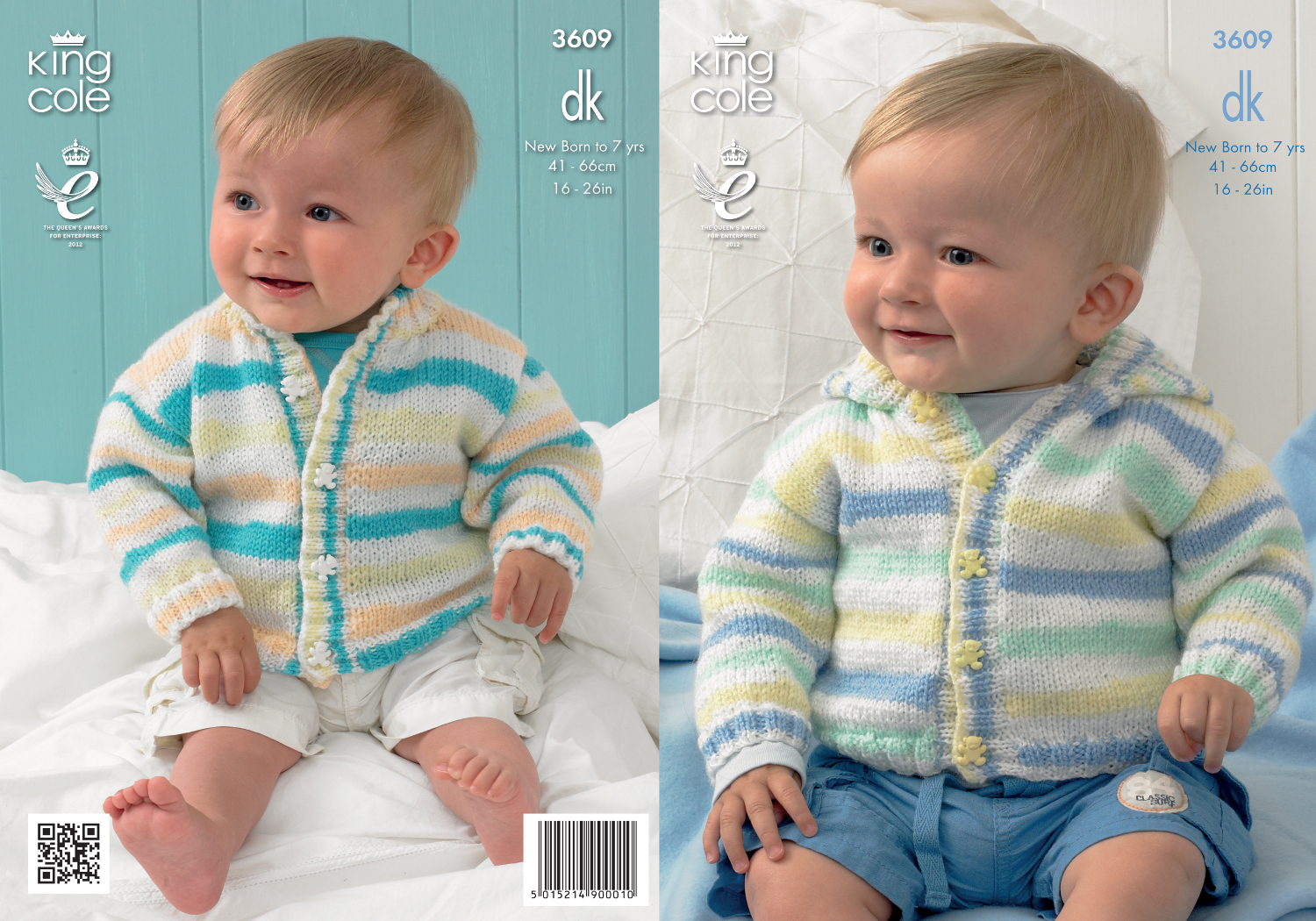 King cole baby double knitting pattern striped hooded round neck king cole baby double knitting pattern striped hooded round neck cardigan 3609 bankloansurffo Choice Image