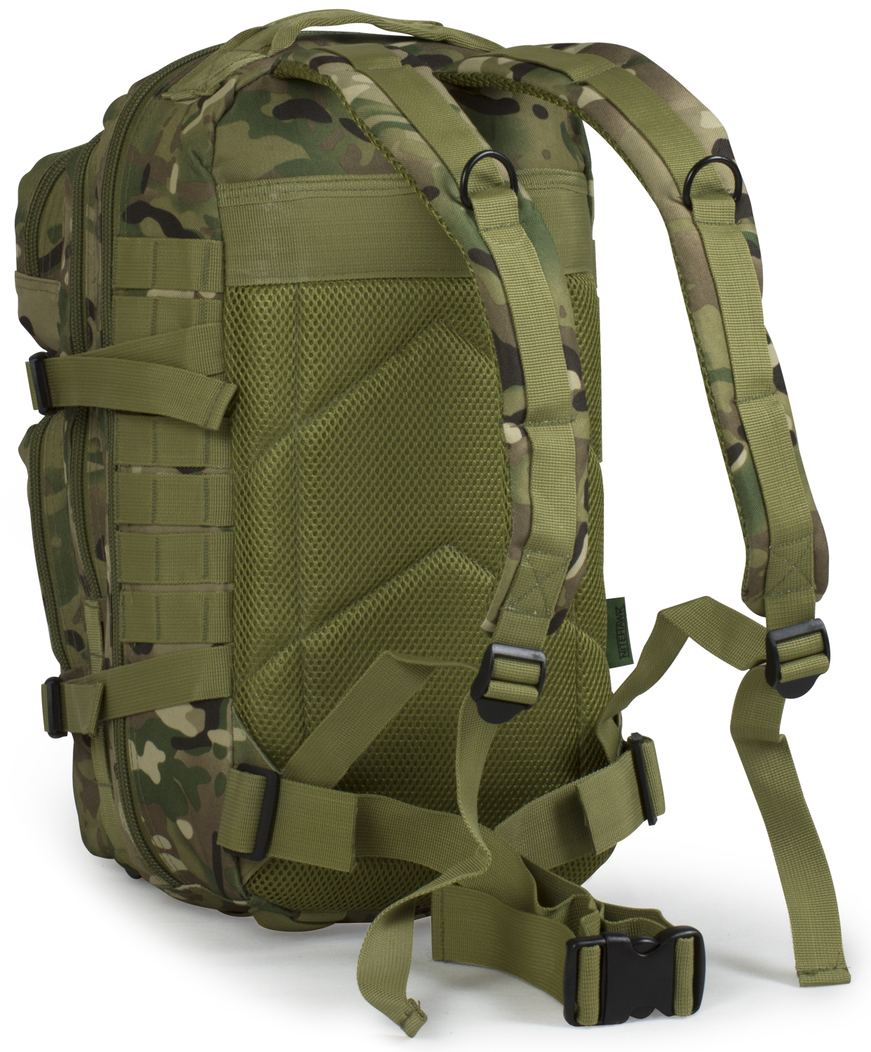 Sentinel 30l Molle Assault Pack Backpack Rucksack Military Cadet Army Bag Nitehawk