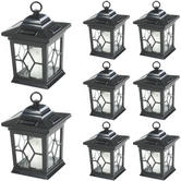 3 x 2 x Woodside Hanging Candle Lanterns