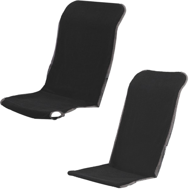 Outwell Black Garden Chair Relaxer Towel Melville Columbia tario