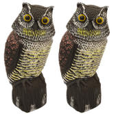 Woodside Owl With Rotating Head X 2