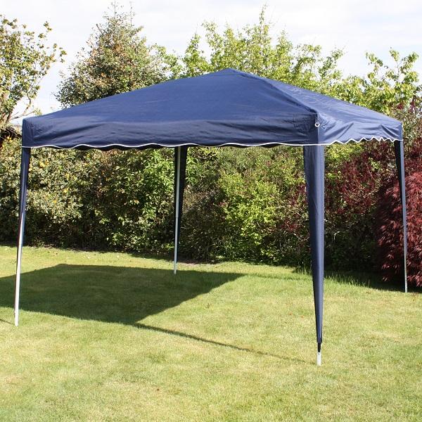Andes 3m x 3m Folding Gazebo - NAVY BLUE