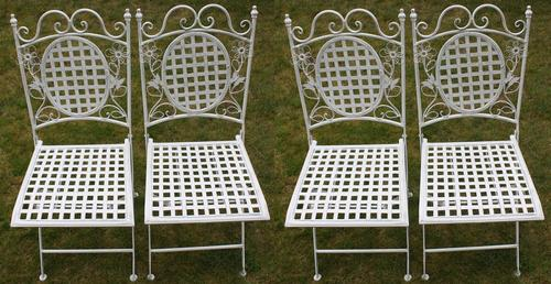 Maribelle Square Chairs x 4