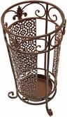 Maribelle Umbrella Stand Round Brown