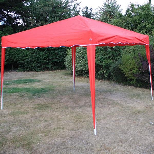 Andes 3m x 3m Folding Gazebo - RED