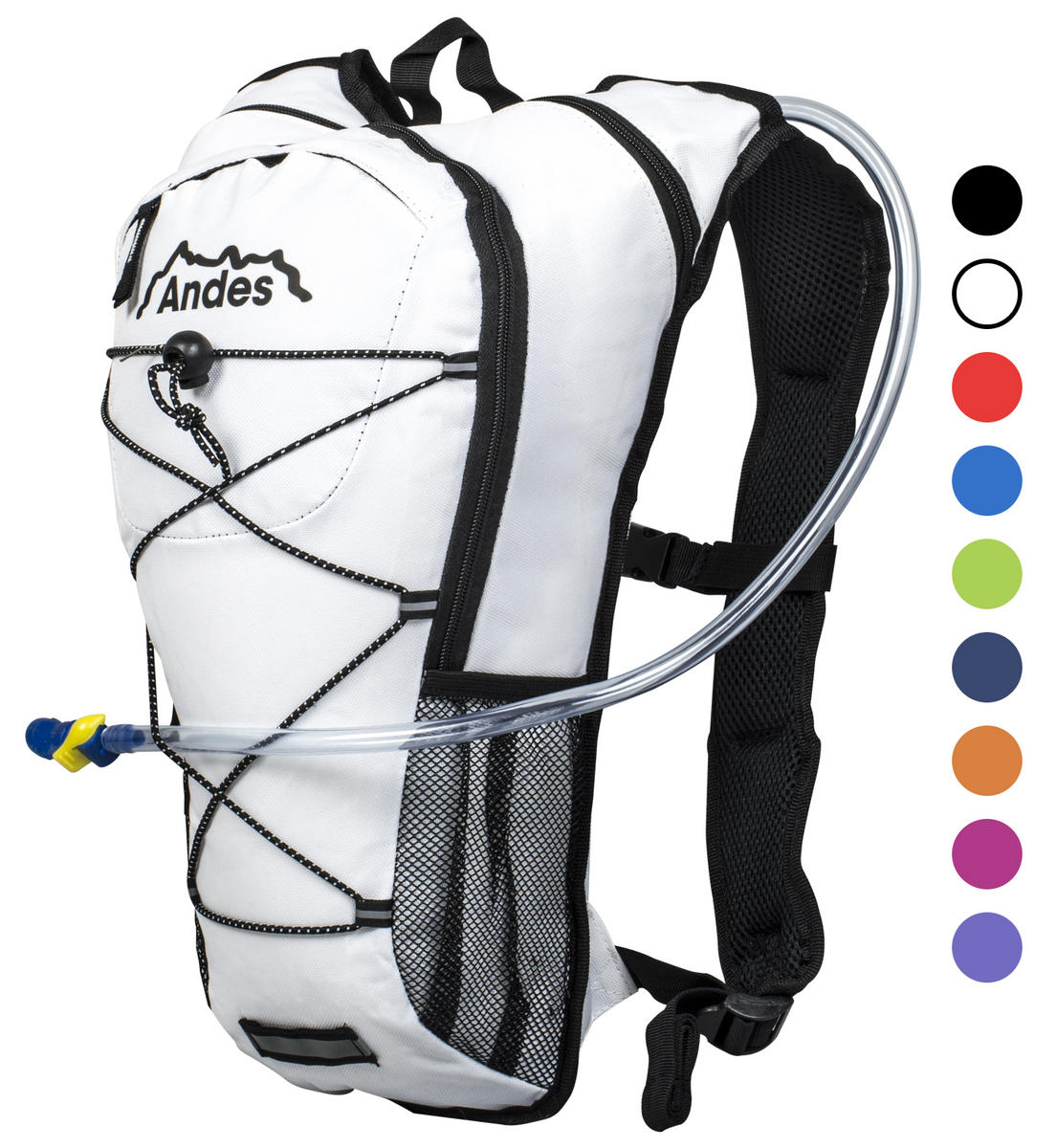 Andes 2 Litre Hydration Pack With 8 Backpack