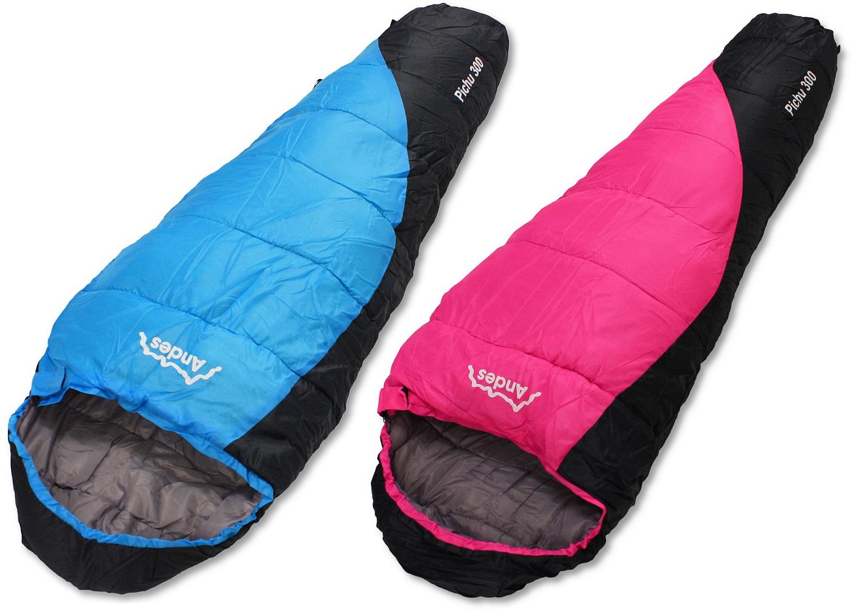 Sentinel Andes Pichu 300 Childrens Kids Boys S 2 3 Season Camping Sleeping Bag