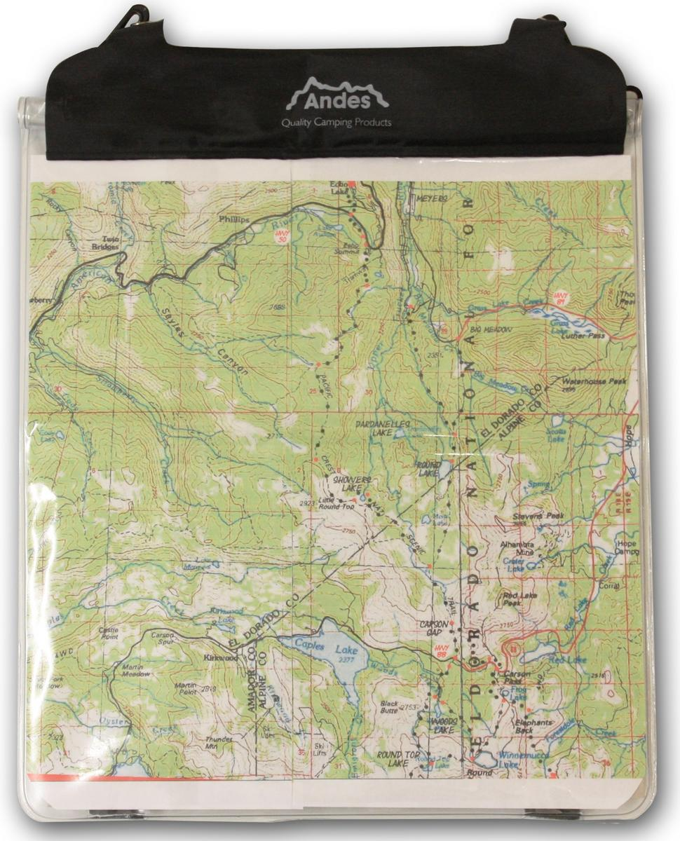 Andes Waterproof Map Case