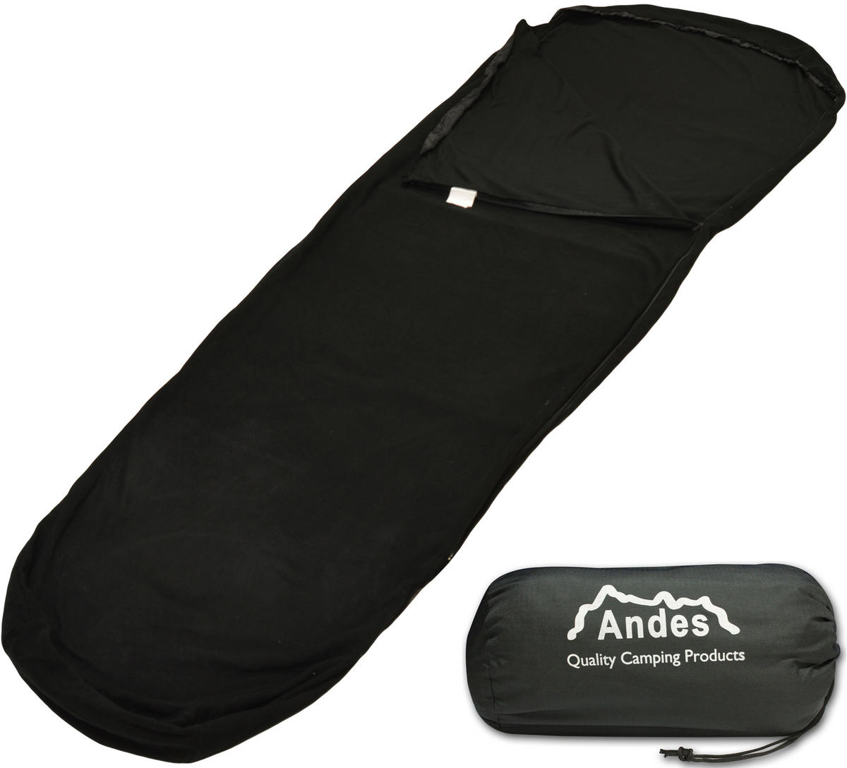 Andes Fleece Mummy Sleeping Bag Liner