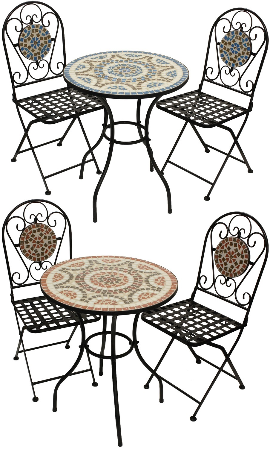 Woodside Mosaic Table And Chair Set Furniture Outdoor Value