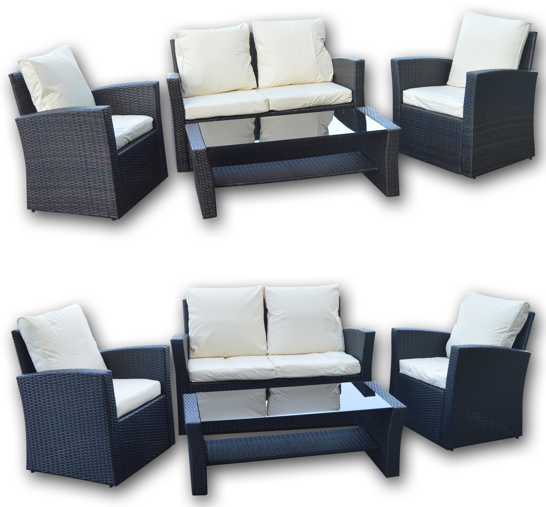 Woodside Virginia Rattan Furniture Set Furniture