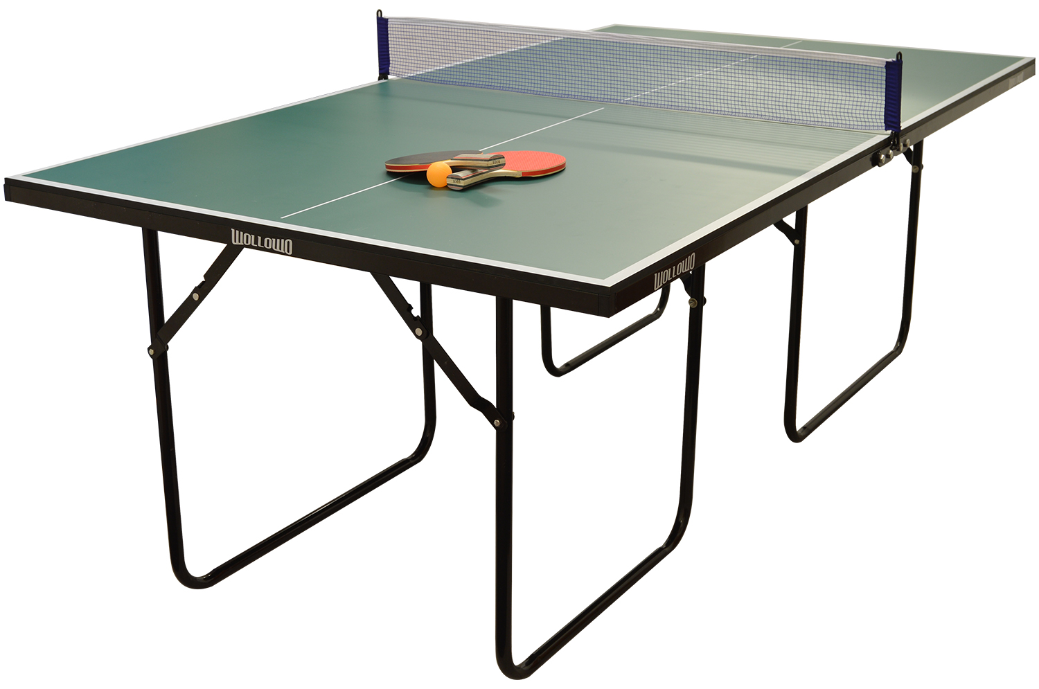 Wollowo 3/4 Size Table Tennis Table