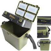 Michigan Fishing Tackle Seat Box