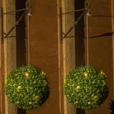 Woodside Pack of 2 Solar Powered Topiary Balls