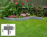 Woodside Grey Border Fence - 10 PACK