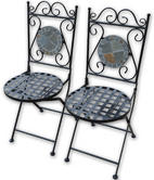 Woodside Set Of Two Mosaic Chairs