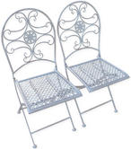 Woodside 2 x Metal Chairs