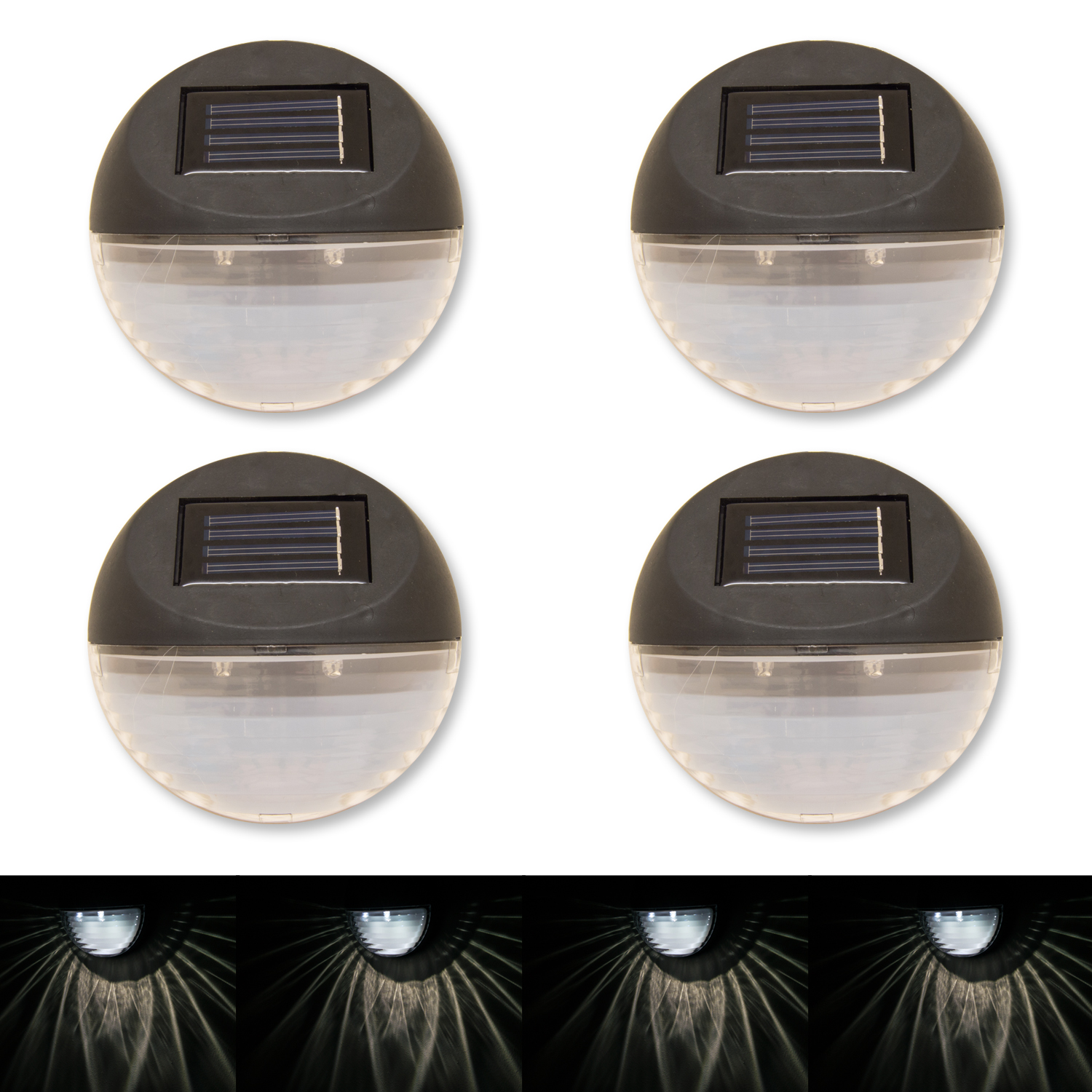 Luxury solar Powered Deck Lights