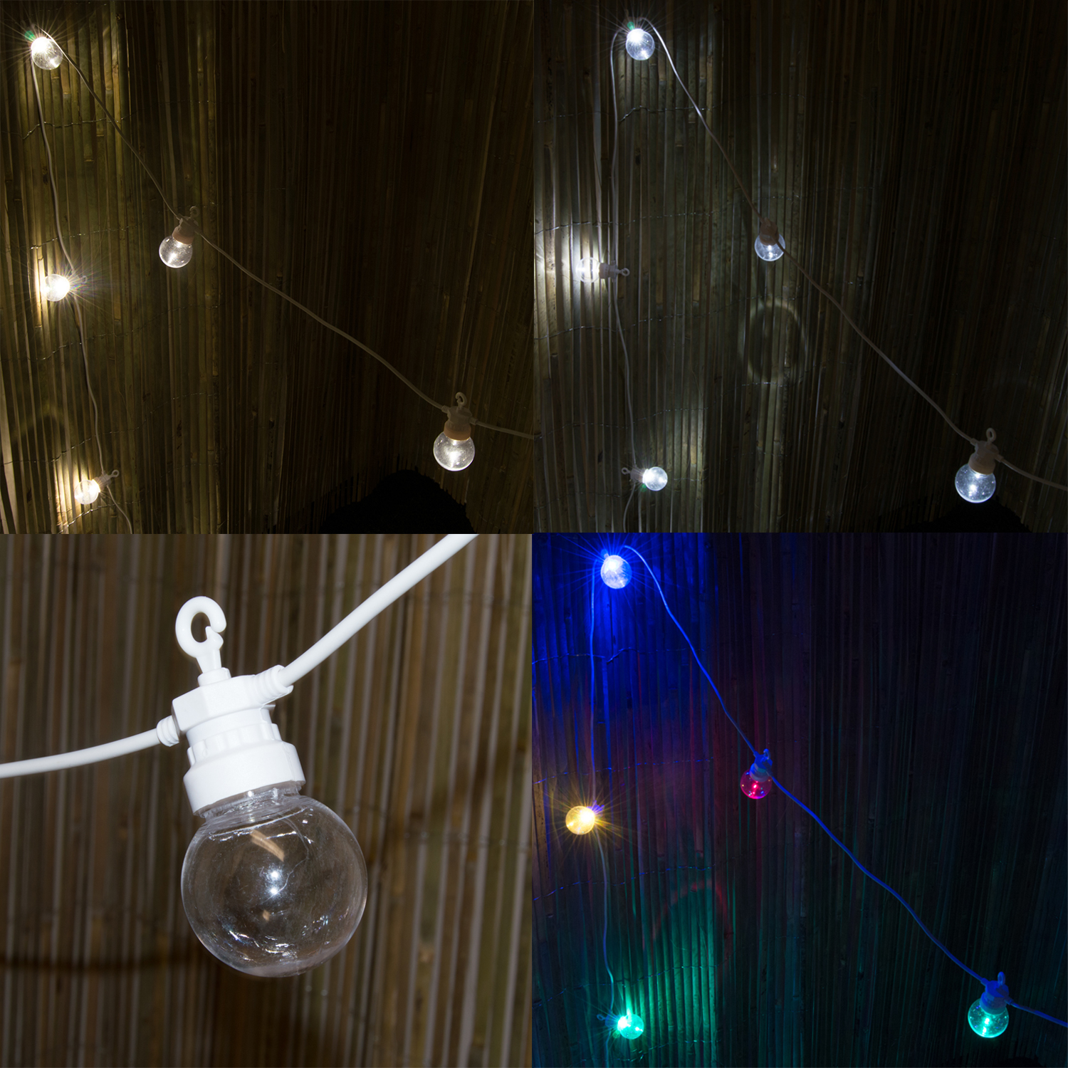 Sentinel 8M Indoor Outdoor Garden Christmas Wedding Festoon Globe Fairy String Led Lights & 8M Indoor Outdoor Garden Christmas Wedding Festoon Globe Fairy ...