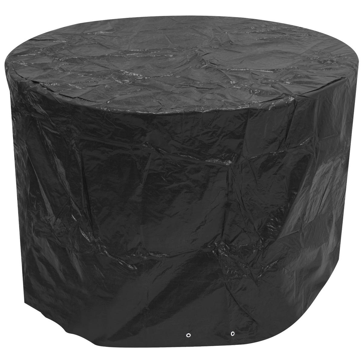 Woodside Small Round Patio Set Cover BLACK