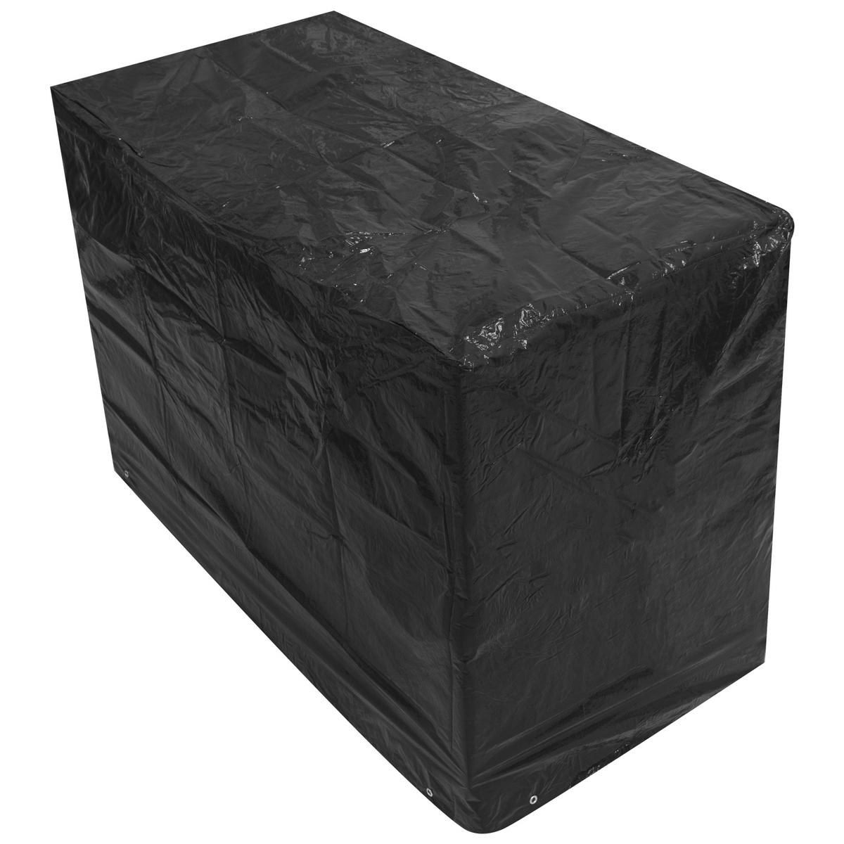 Woodside 2 Seater 1.2M Bench Cover BLACK