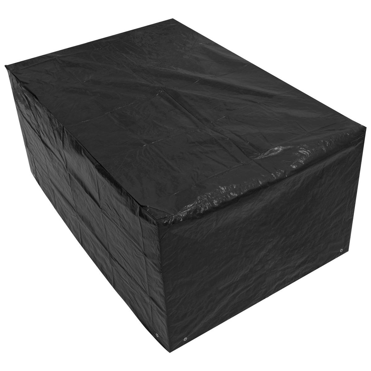 Woodside Small Rectangle Table Cover BLACK