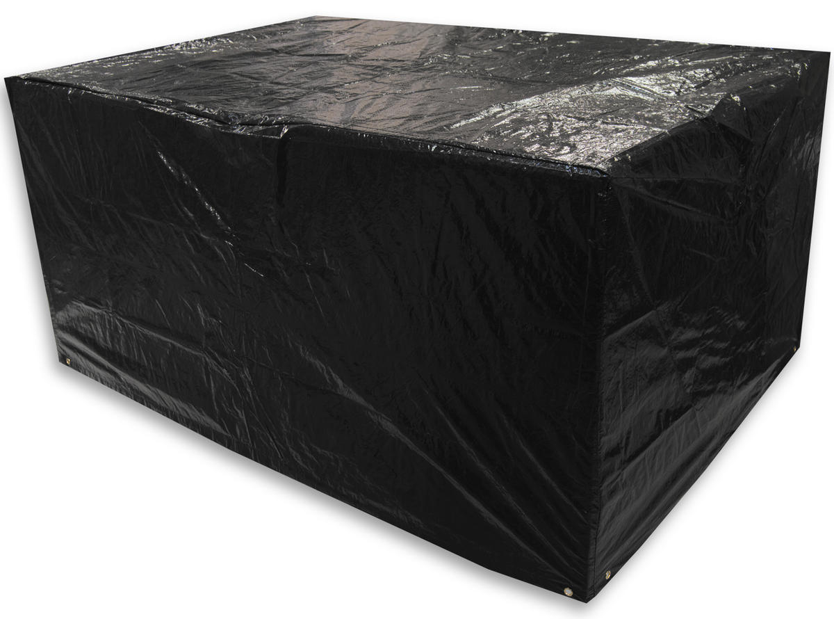 woodside large rectangle table cover black covers outdoor value. Black Bedroom Furniture Sets. Home Design Ideas