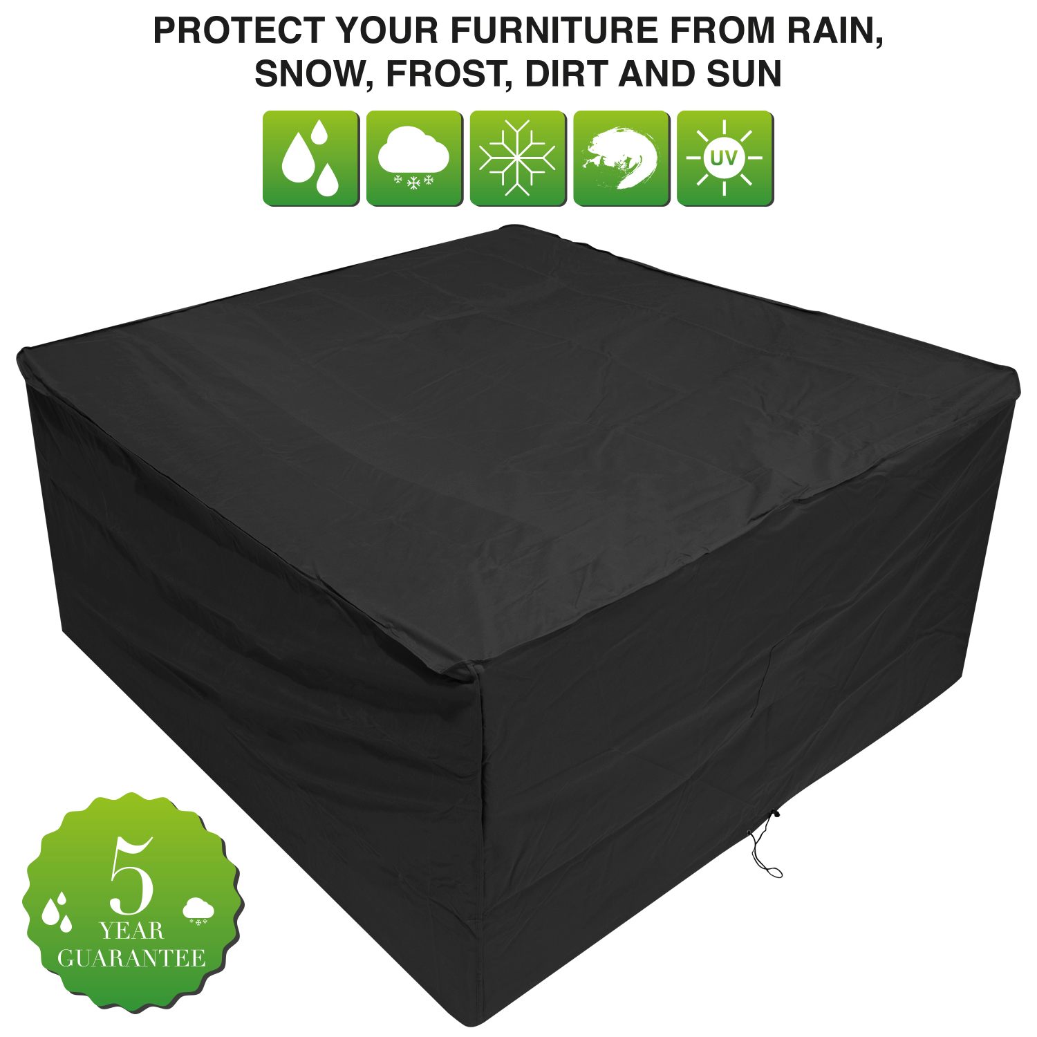 Oxbridge medium oval patio set cover covers outdoor value for Oxbridge outdoor furniture covers