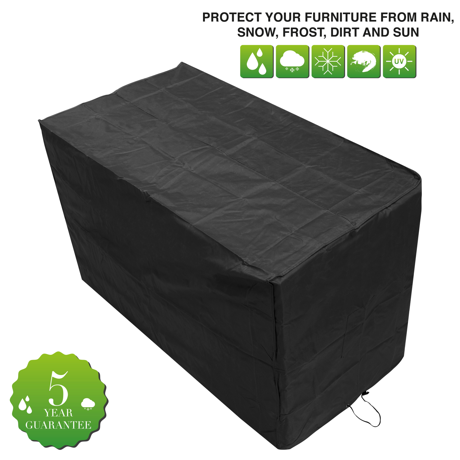 Oxbridge bistro patio set cover covers outdoor value for Oxbridge outdoor furniture covers