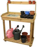 Woodside Wooden Work/Potting Bench