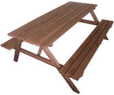 Woodside 6ft Pressure Treated Bench