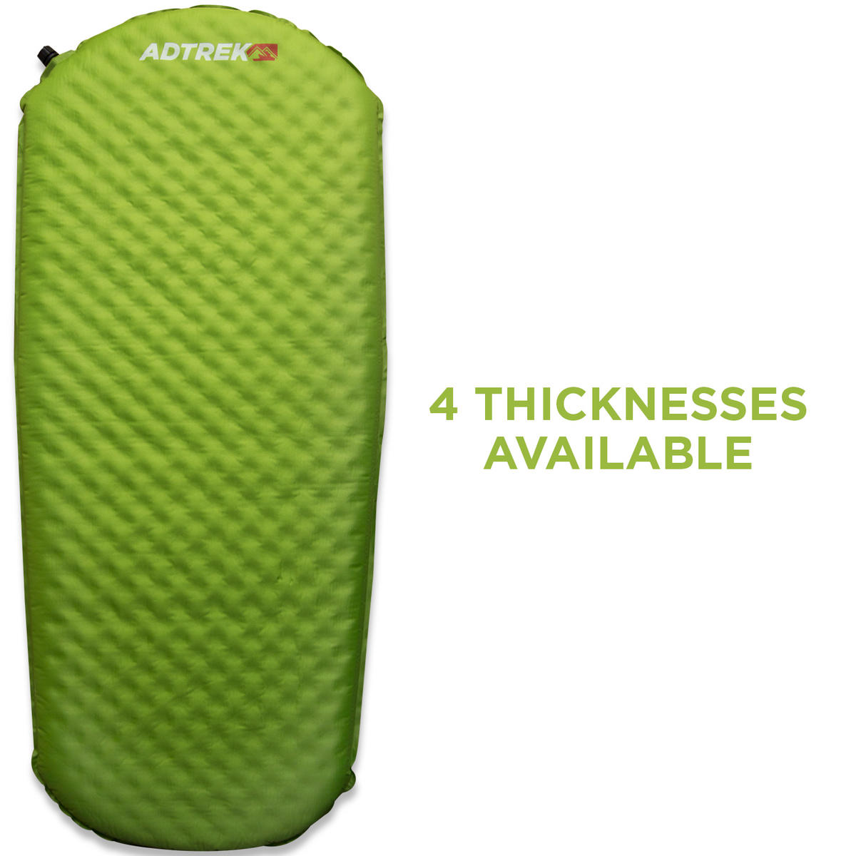 Adtrek Green 3/4 Length Self Inflating Mat