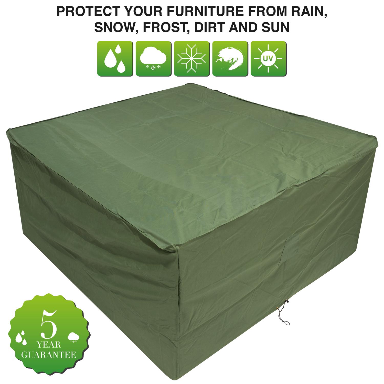 Oxbridge Medium Oval Patio Set Cover GREEN Covers
