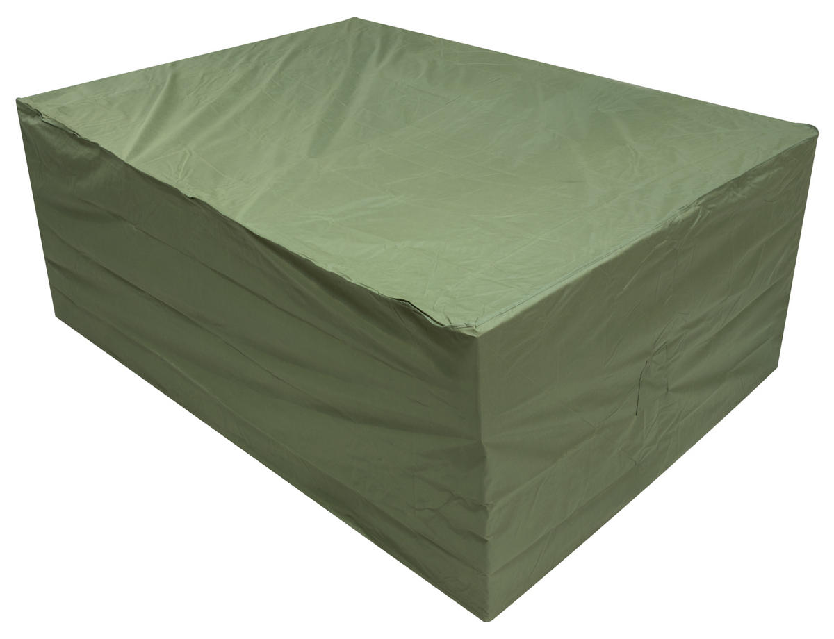 Oxbridge Large Oval Patio Set Cover Green Covers