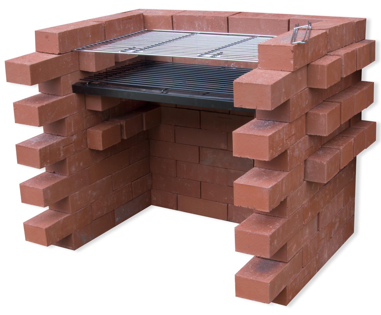 woodside brick charcoal bbq grill