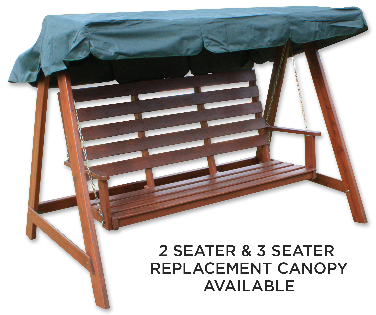 Woodside Swing Chair Replacement Canopy Green Covers Outdoor Value