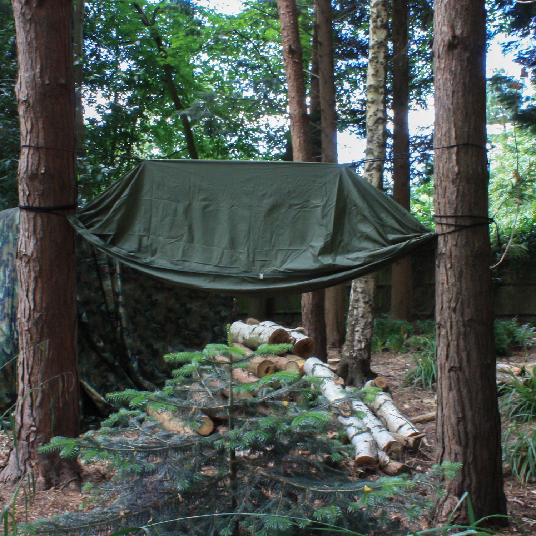 Andes Camping Jungle Hammock Hiking Military Survival ...