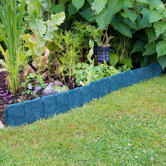 Woodside Green Border Fence - 10 PACK