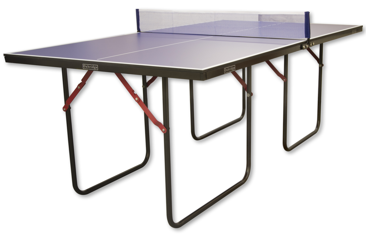 Oxbridge 3 4 size table tennis table table tennis - Measurements of a table tennis table ...