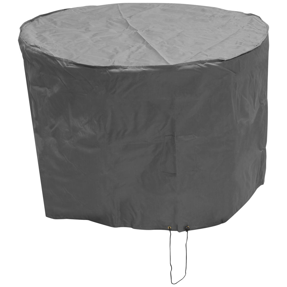 Oxbridge small round patio set cover grey covers for Oxbridge outdoor furniture covers